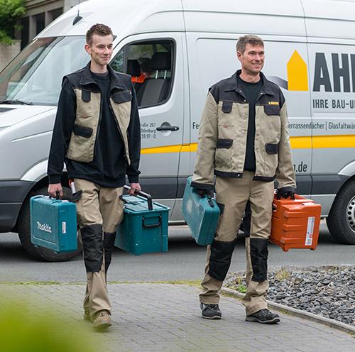 Turbo Tischlereibetrieb Ahlers - Haustür, Fenster, Wintergärten, Bauelemente MT94